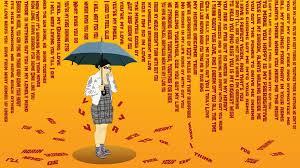 word rain